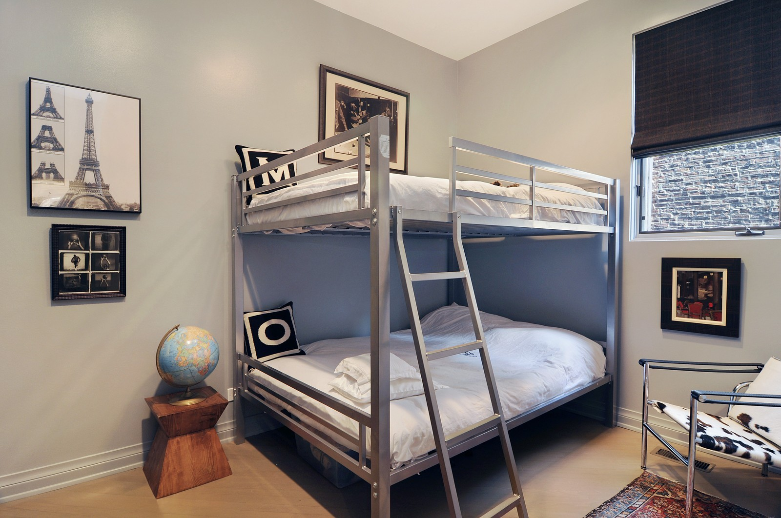 Real Estate Photography - 855 W Webster, Chicago, IL, 60614 - 2nd Bedroom