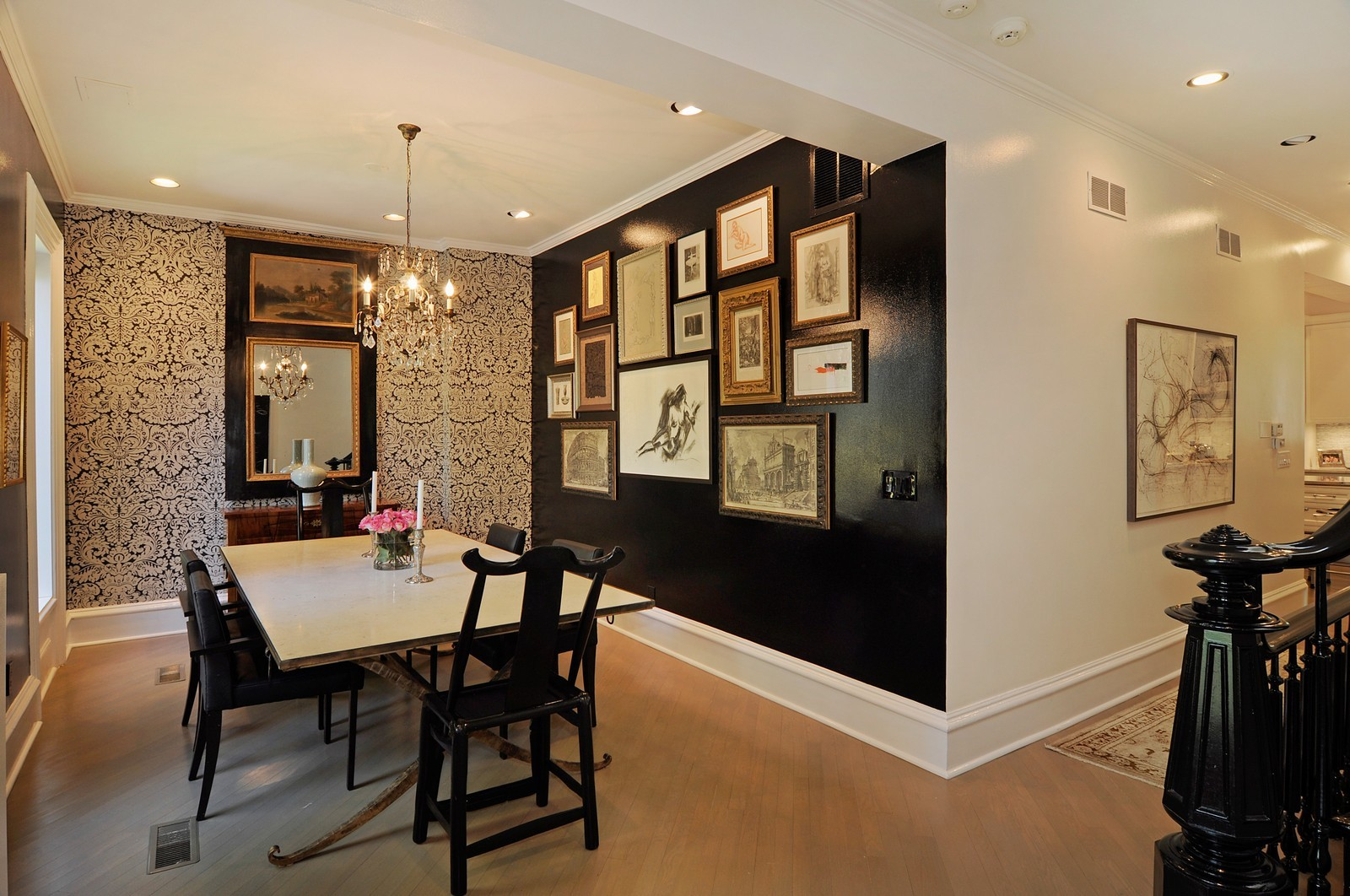 Real Estate Photography - 855 W Webster, Chicago, IL, 60614 - Dining Area 2