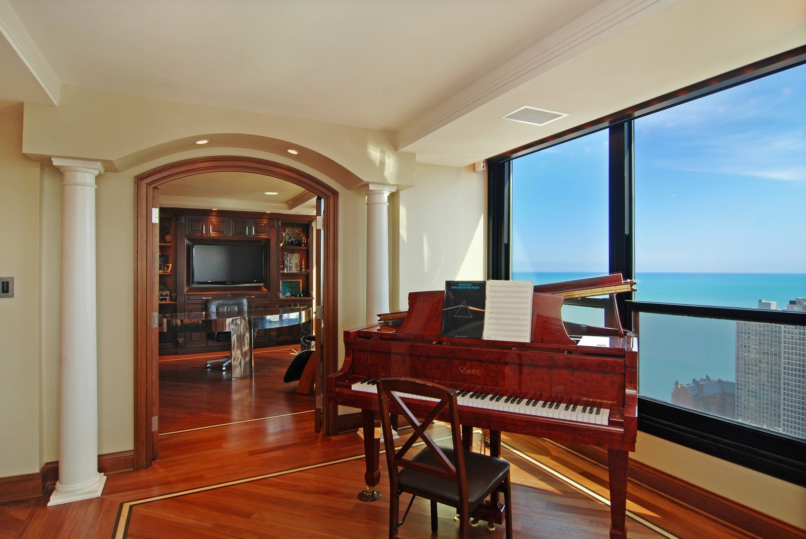 Real Estate Photography - 1030 N State, Unit 45G, Chicago, IL, 60610 - Piano / Office