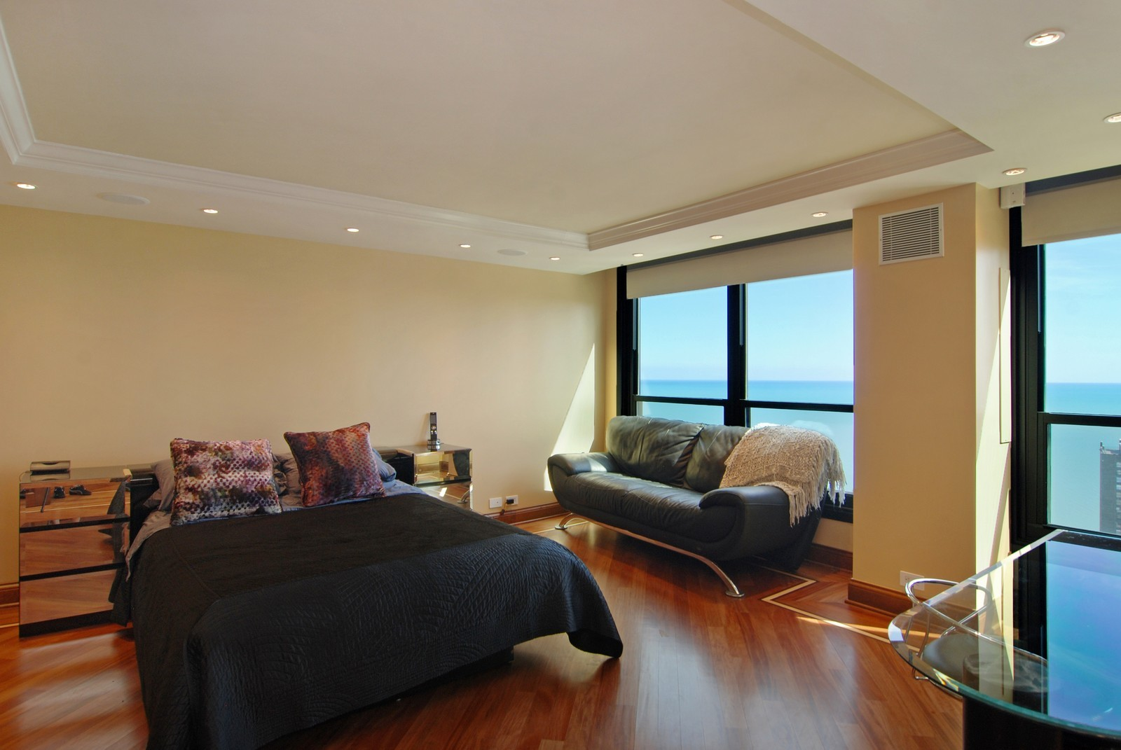 Real Estate Photography - 1030 N State, Unit 45G, Chicago, IL, 60610 - Master Bedroom