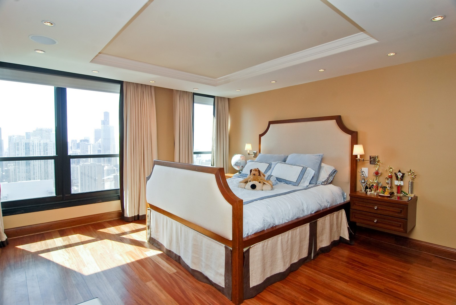 Real Estate Photography - 1030 N State, Unit 45G, Chicago, IL, 60610 - 2nd Bedroom