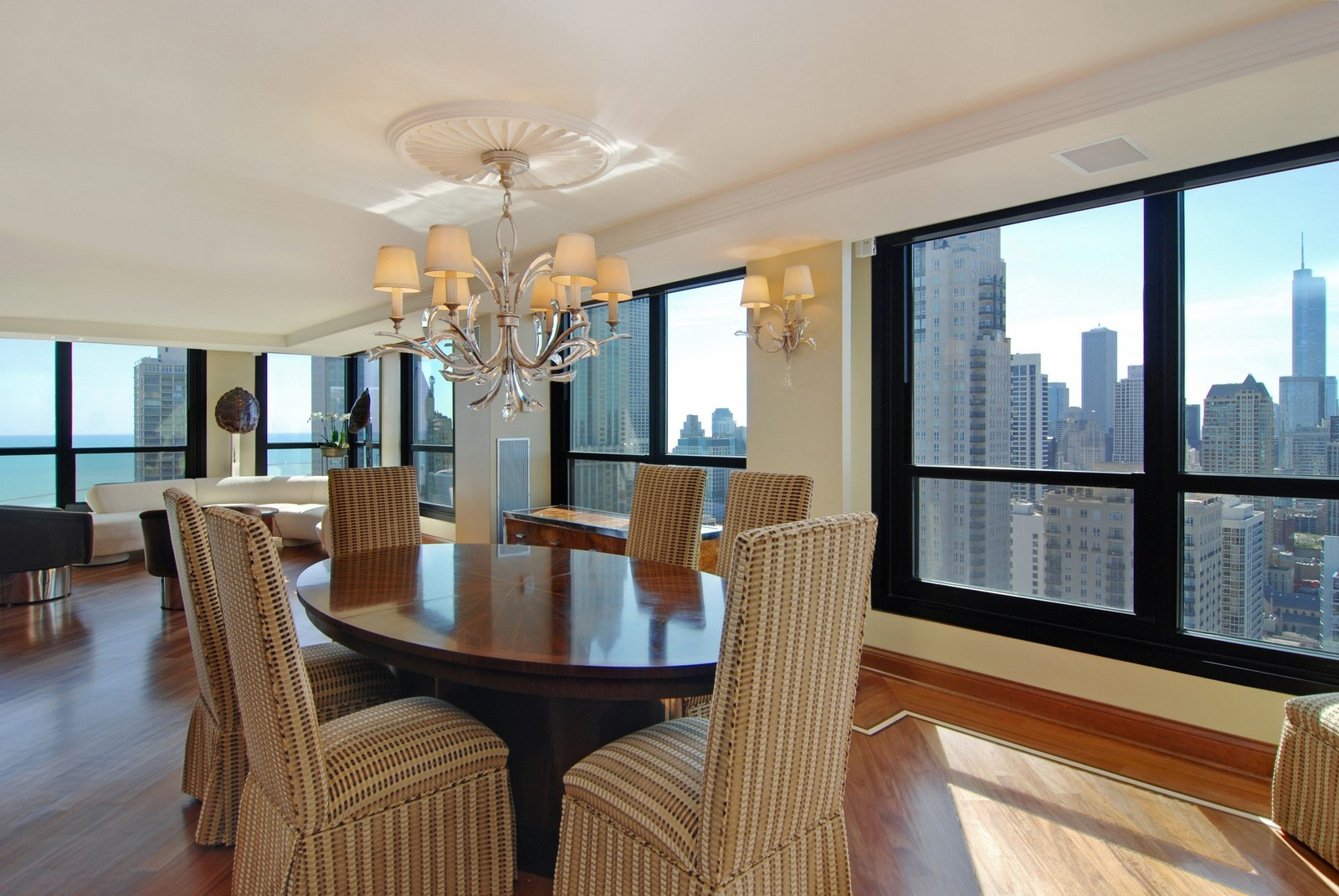 Real Estate Photography - 1030 N State, Unit 45G, Chicago, IL, 60610 - Dining Room
