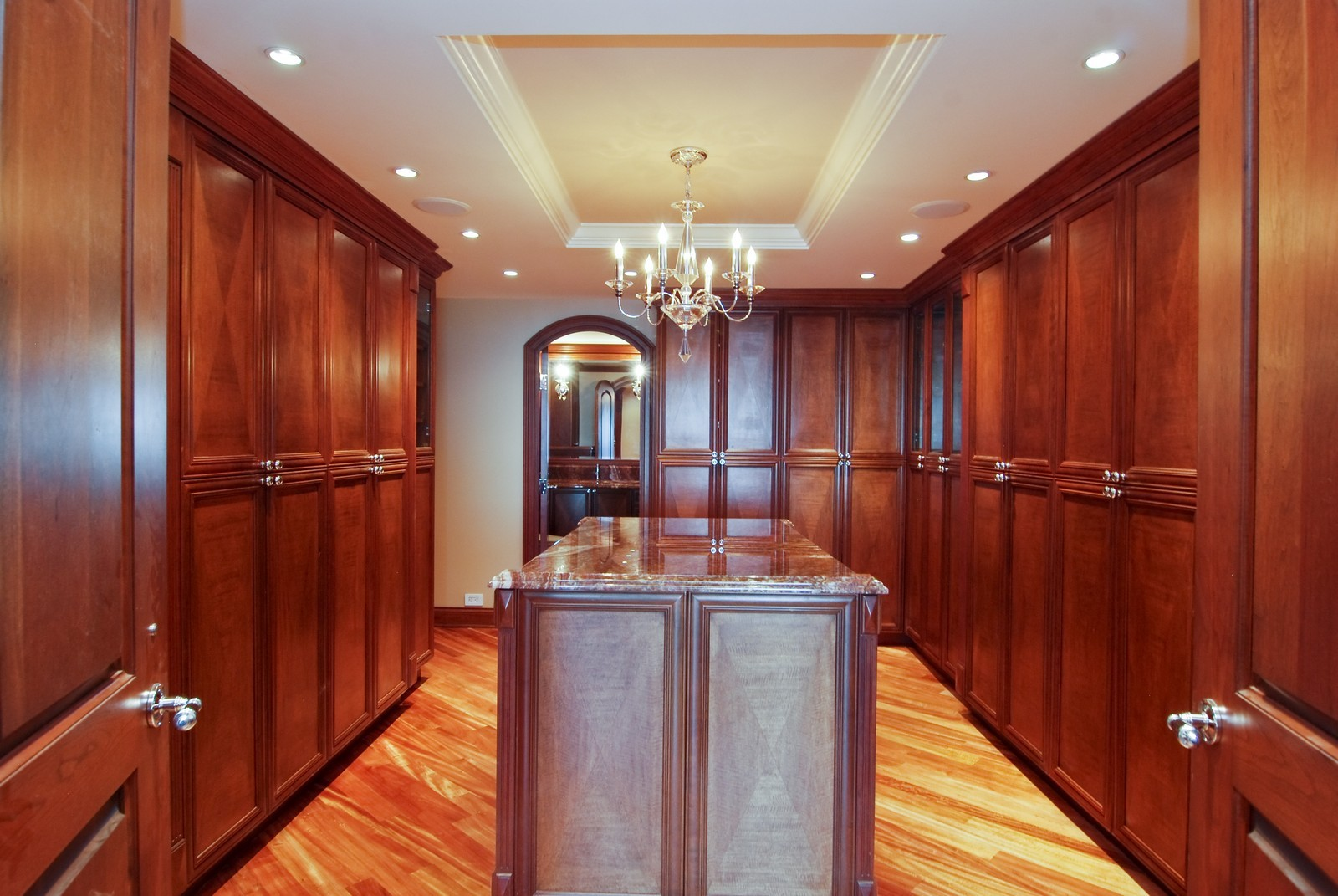 Real Estate Photography - 1030 N State, Unit 45G, Chicago, IL, 60610 - Master Bedroom Closet