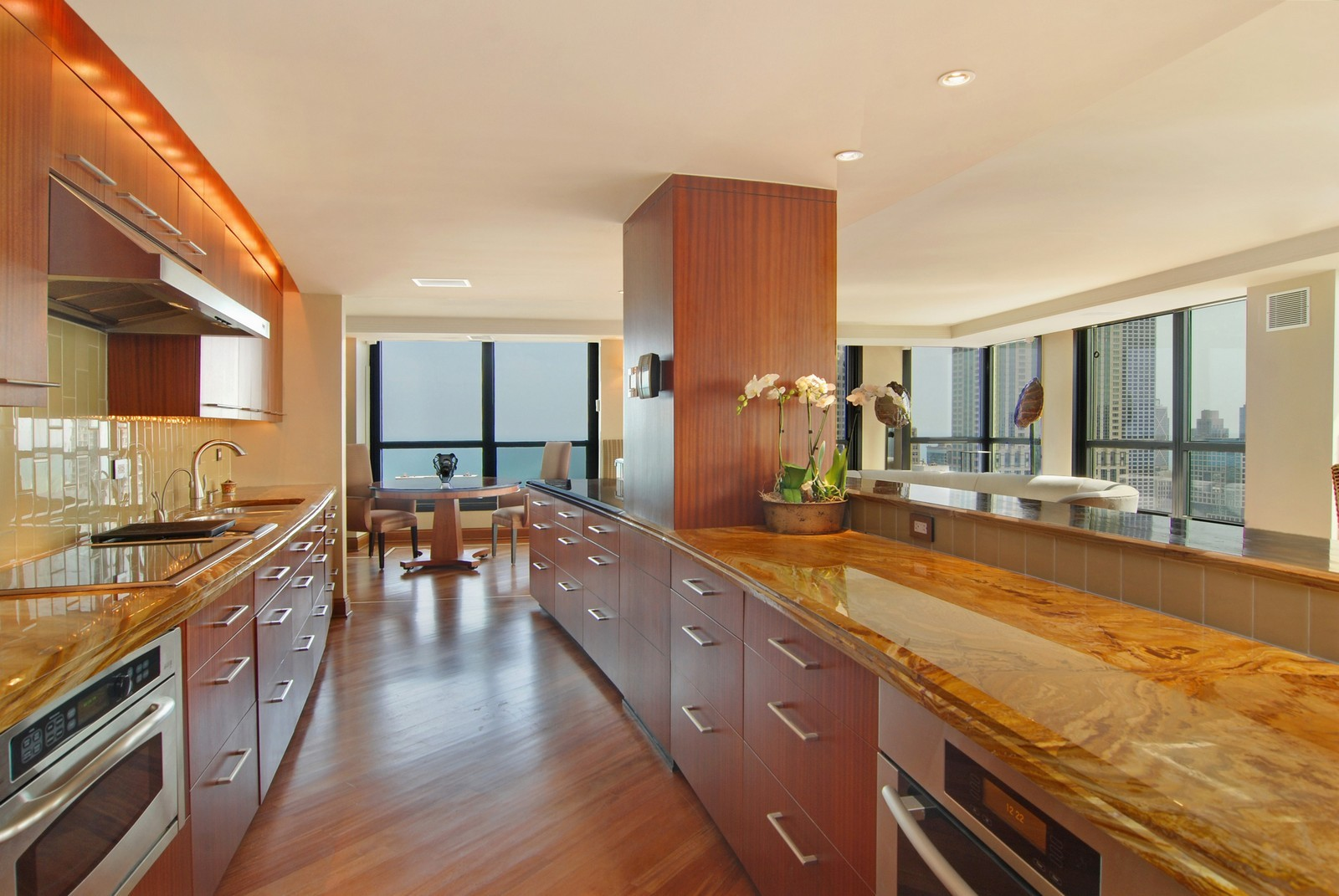 Real Estate Photography - 1030 N State, Unit 45G, Chicago, IL, 60610 - Kitchen
