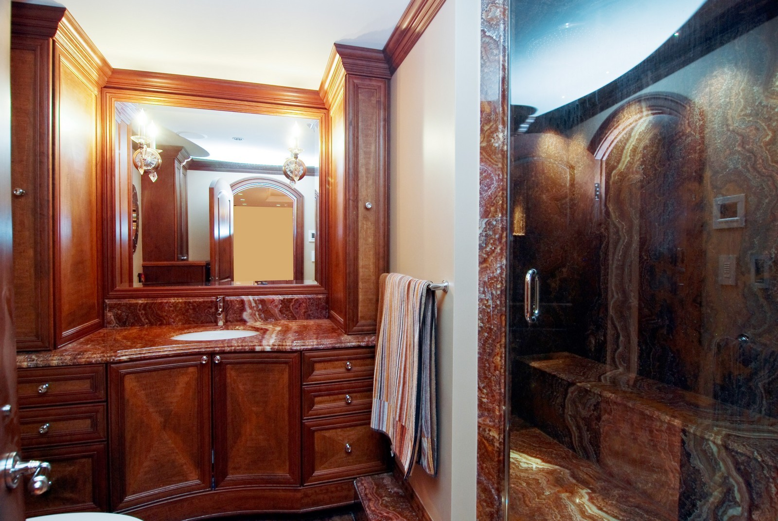 Real Estate Photography - 1030 N State, Unit 45G, Chicago, IL, 60610 - Master Bathroom 2