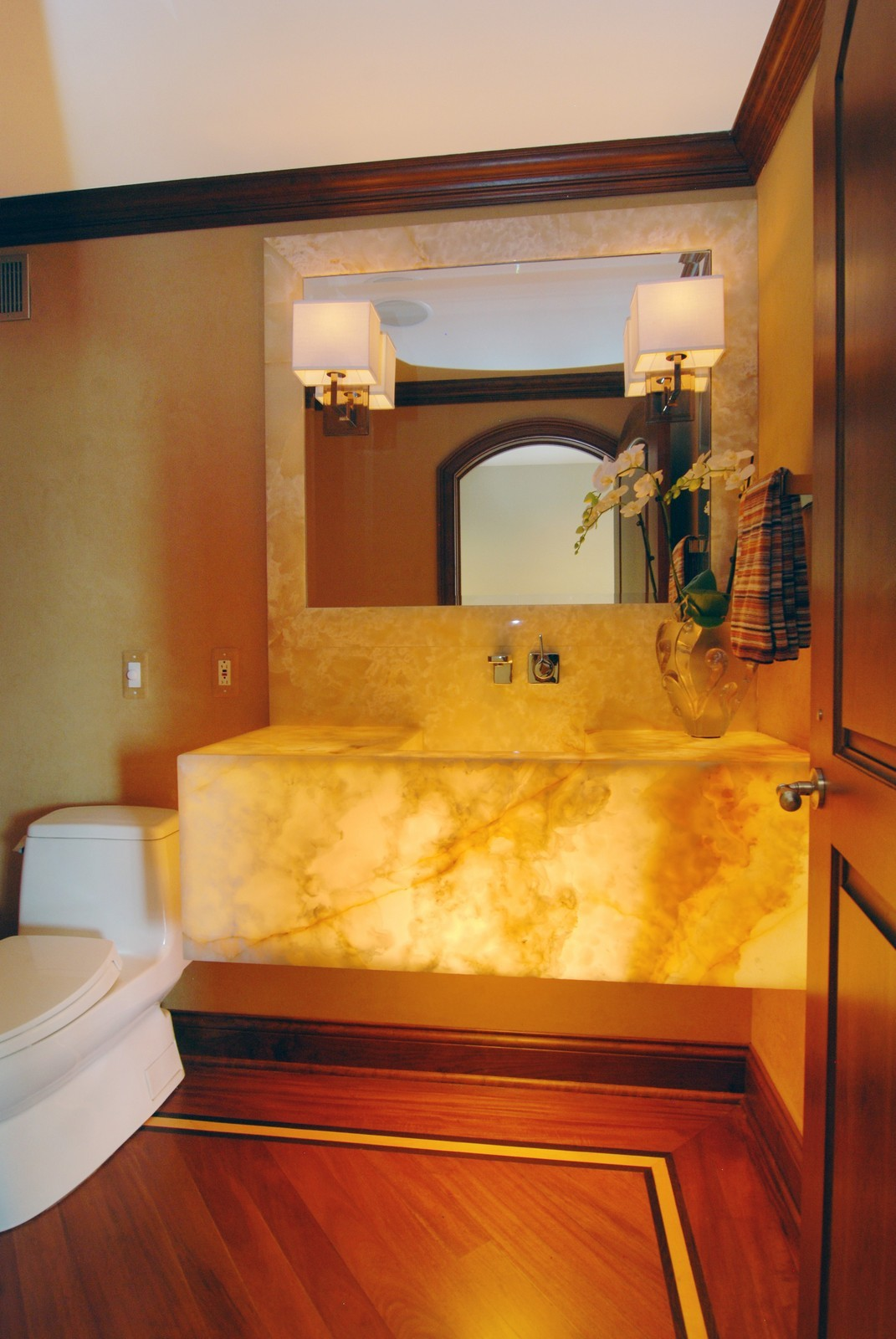 Real Estate Photography - 1030 N State, Unit 45G, Chicago, IL, 60610 - Guest Bathroom