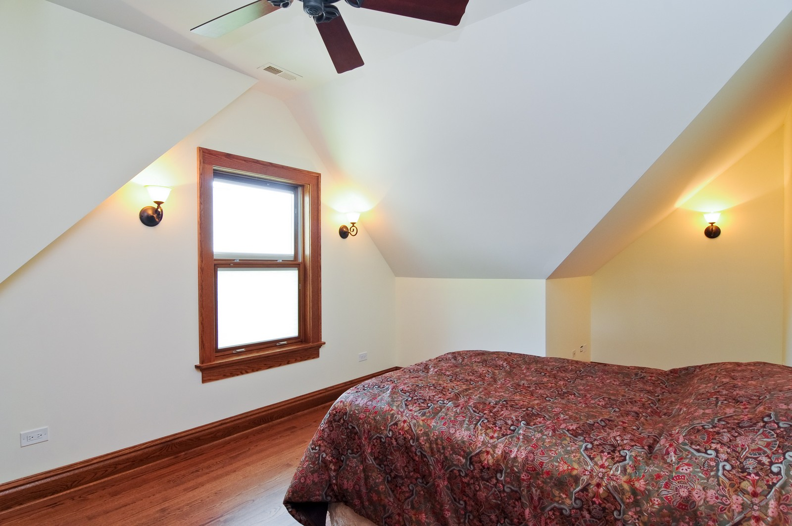 Real Estate Photography - 426 Spruce, Lake Forest, IL, 60045 - 3rd Bedroom