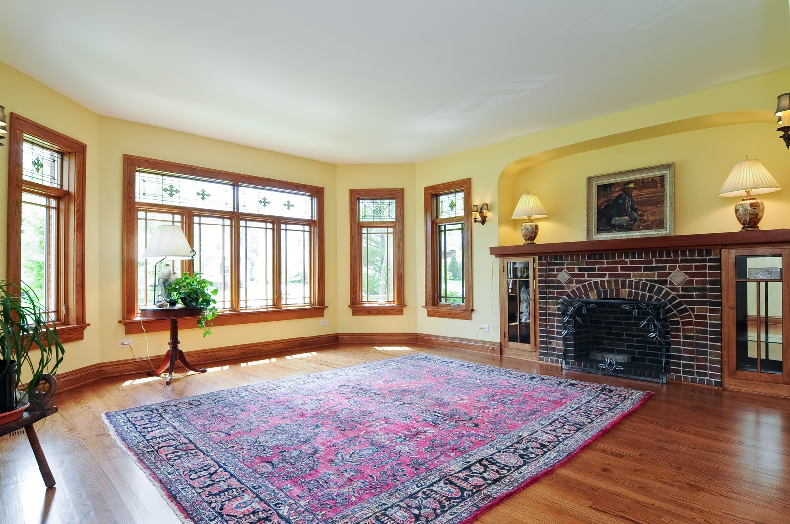 Real Estate Photography - 426 Spruce, Lake Forest, IL, 60045 - Family Room