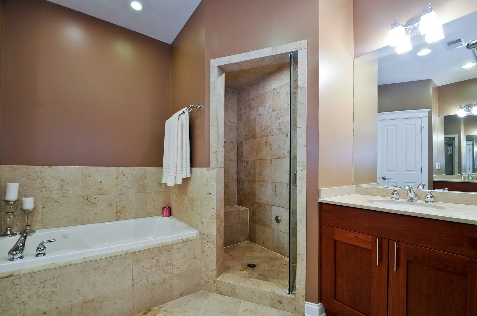Real Estate Photography - 3056 N Clybourn, Unit 2N, Chicago, IL, 60618 - Master en-suite bathroom