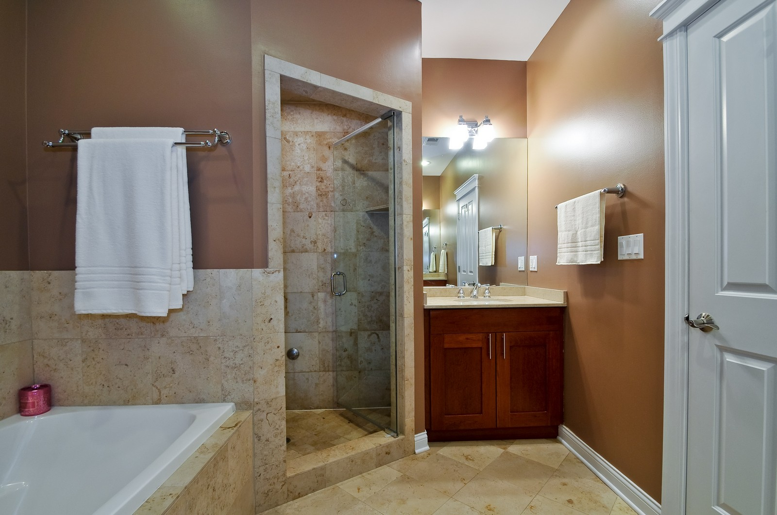 Real Estate Photography - 3056 N Clybourn, Unit 2N, Chicago, IL, 60618 - Master Bathroom