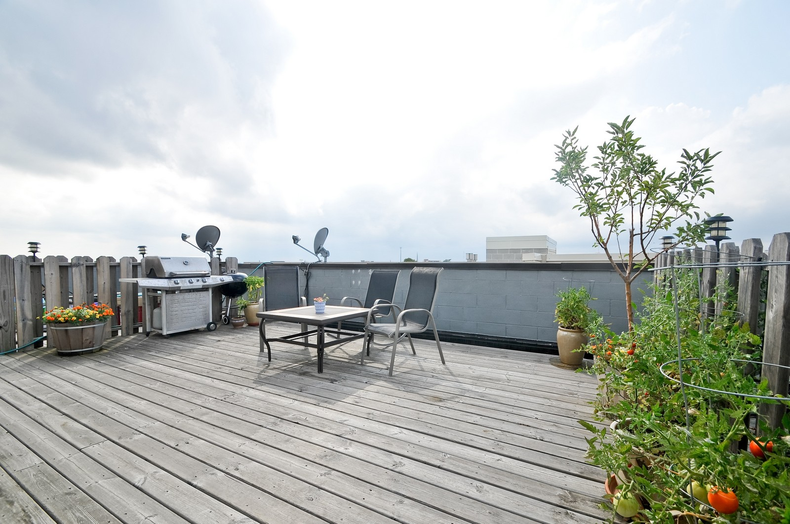 Real Estate Photography - 3056 N Clybourn, Unit 2N, Chicago, IL, 60618 - Private Roof Top Deck