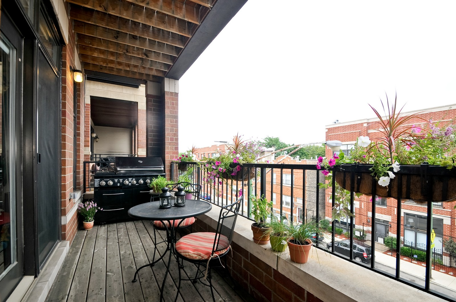 Real Estate Photography - 3056 N Clybourn, Unit 2N, Chicago, IL, 60618 - Balcony