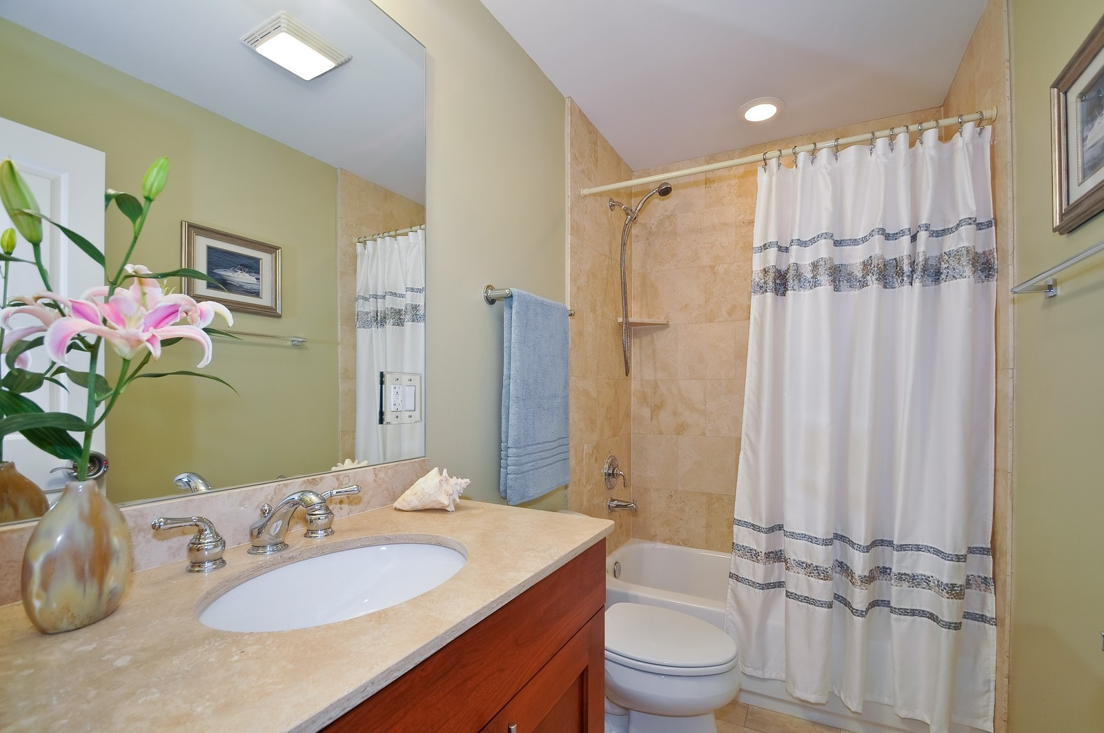 Real Estate Photography - 3056 N Clybourn, Unit 2N, Chicago, IL, 60618 - 2nd Bathroom