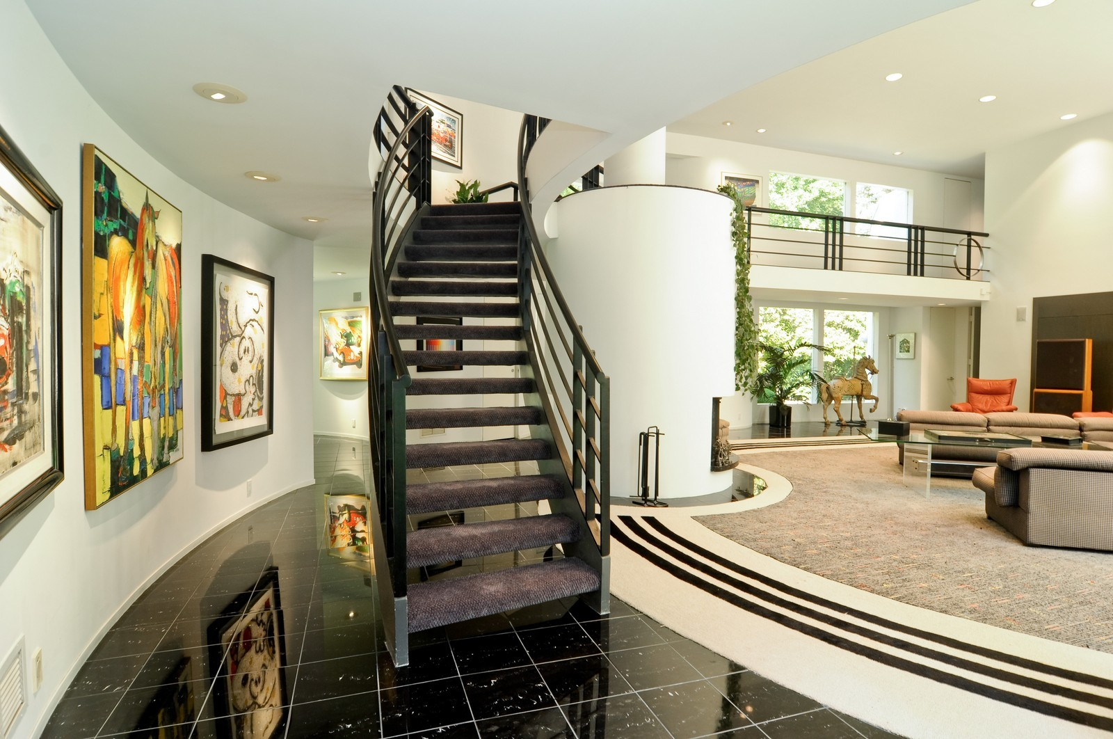 Real Estate Photography - 4 Dunsinane, Bannockburn, IL, 60015 - Staircase