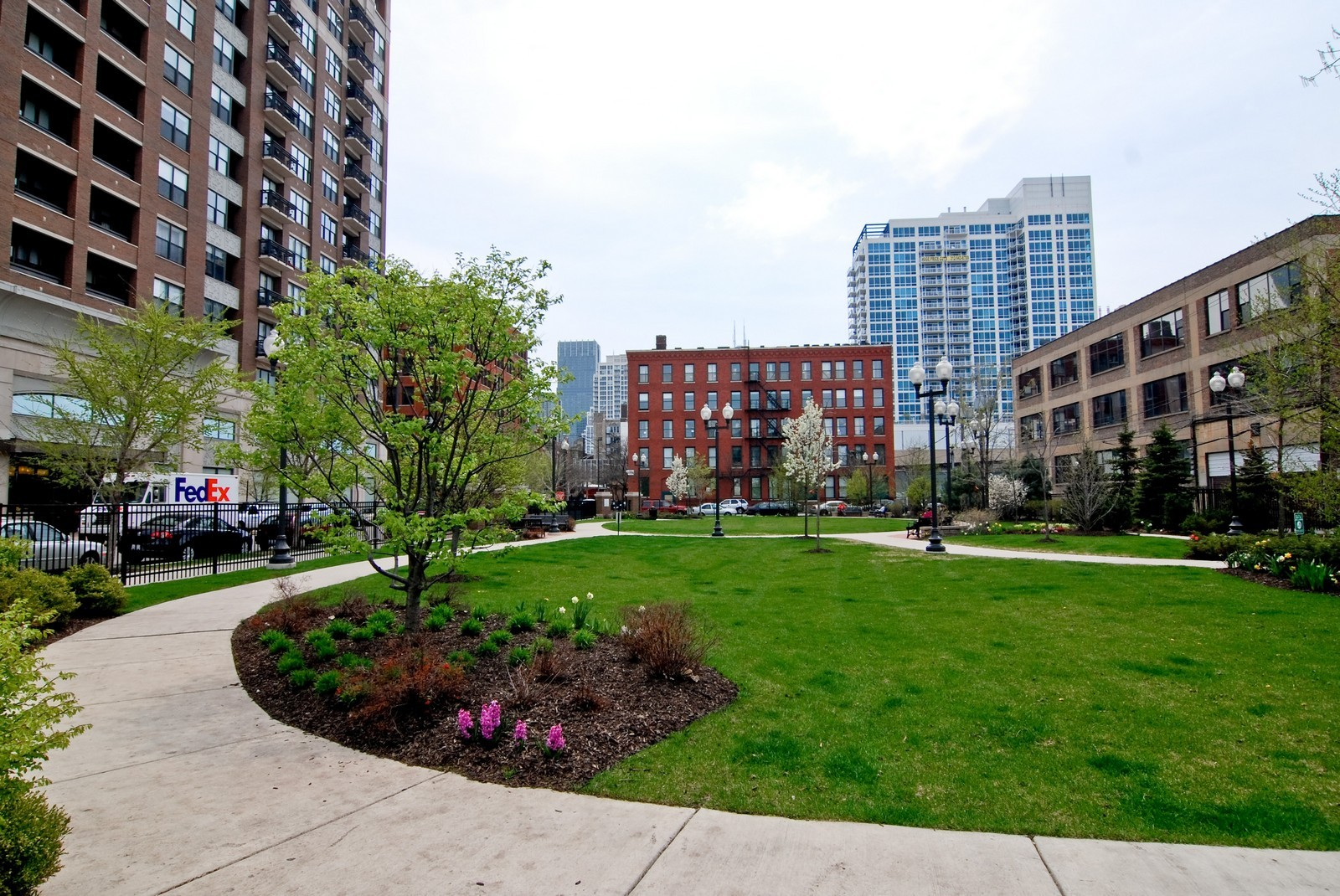 Real Estate Photography - 849 N. Franklin, 1107, Chicago, IL, 60610 - Private Secured Park