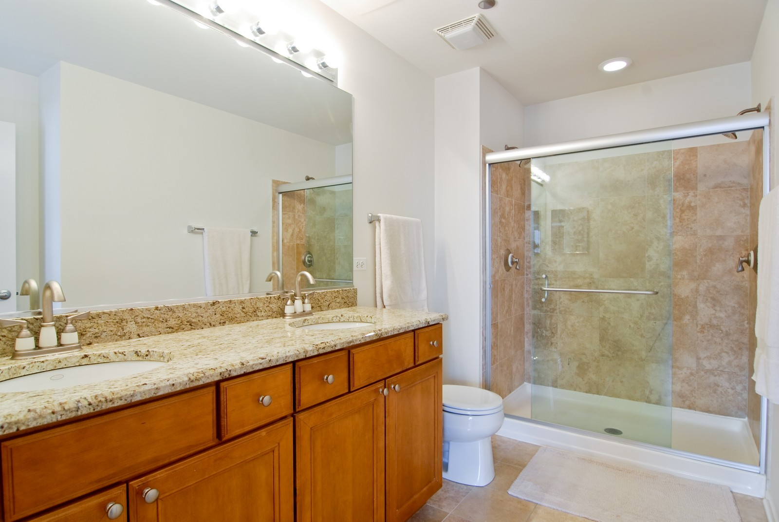 Real Estate Photography - 849 N. Franklin, 1107, Chicago, IL, 60610 - Master Bathroom
