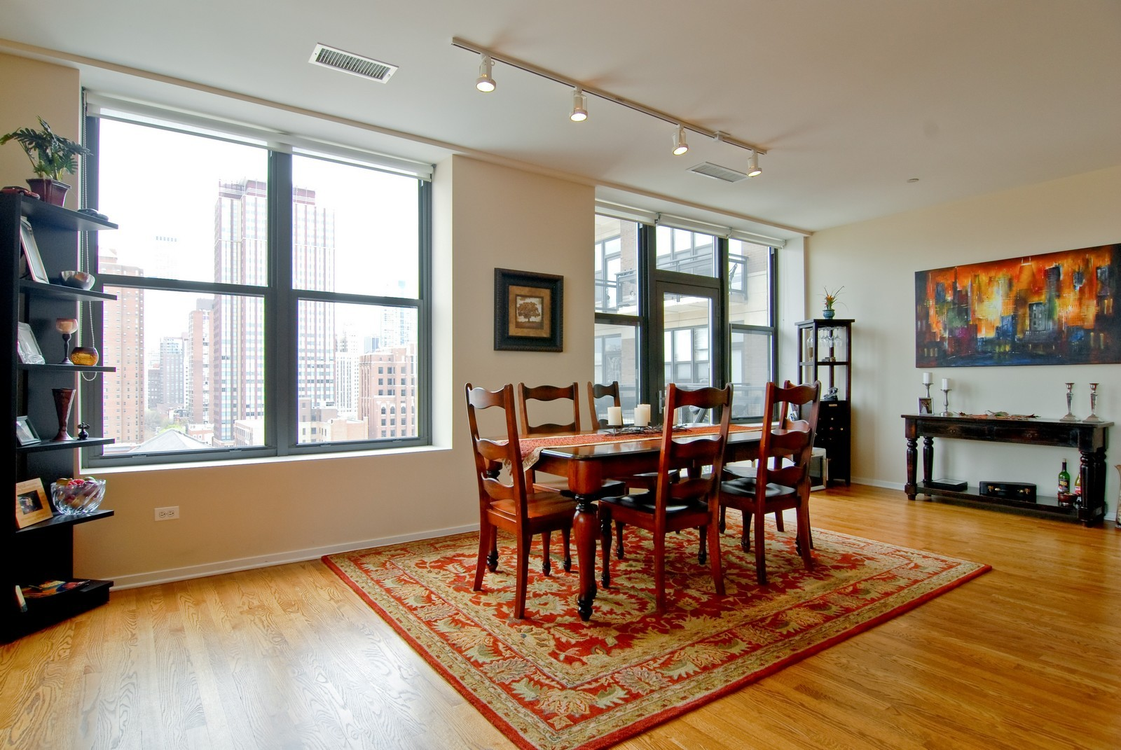 Real Estate Photography - 849 N. Franklin, 1107, Chicago, IL, 60610 - Dining Room