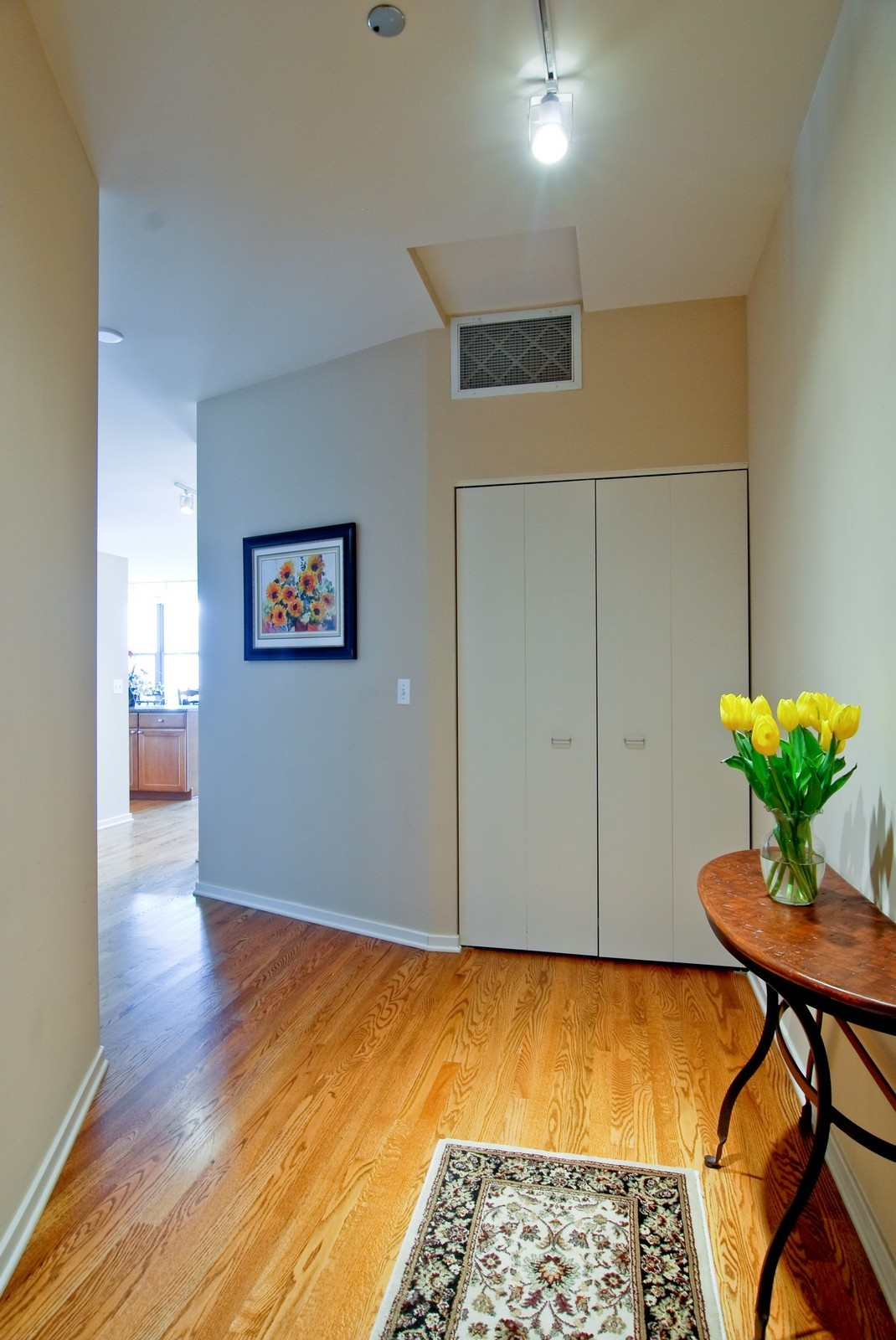 Real Estate Photography - 849 N. Franklin, 1107, Chicago, IL, 60610 - Foyer