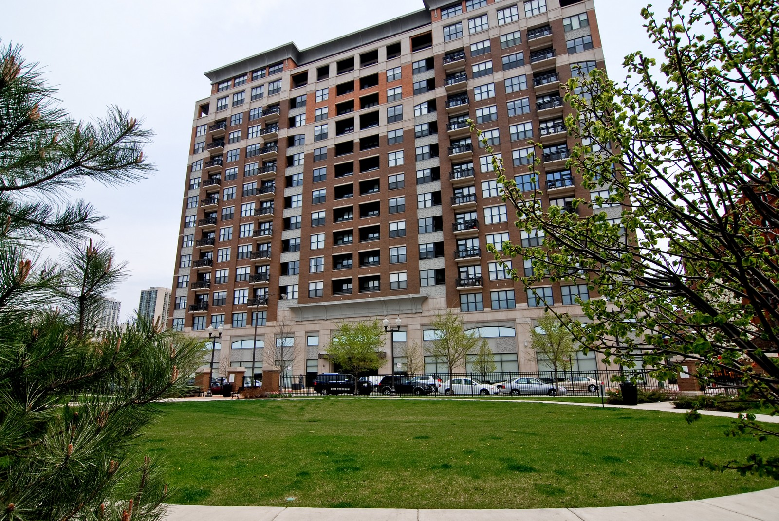 Real Estate Photography - 849 N. Franklin, 1107, Chicago, IL, 60610 - Front View