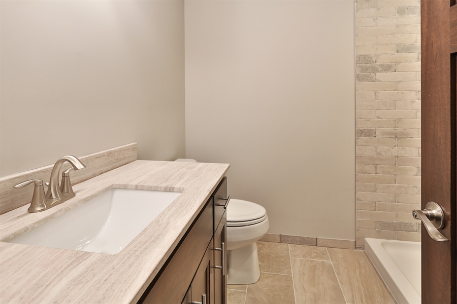 Real Estate Photography - 4513 Parkside Ln, Edina, MN, 55436 - 3rd Bathroom