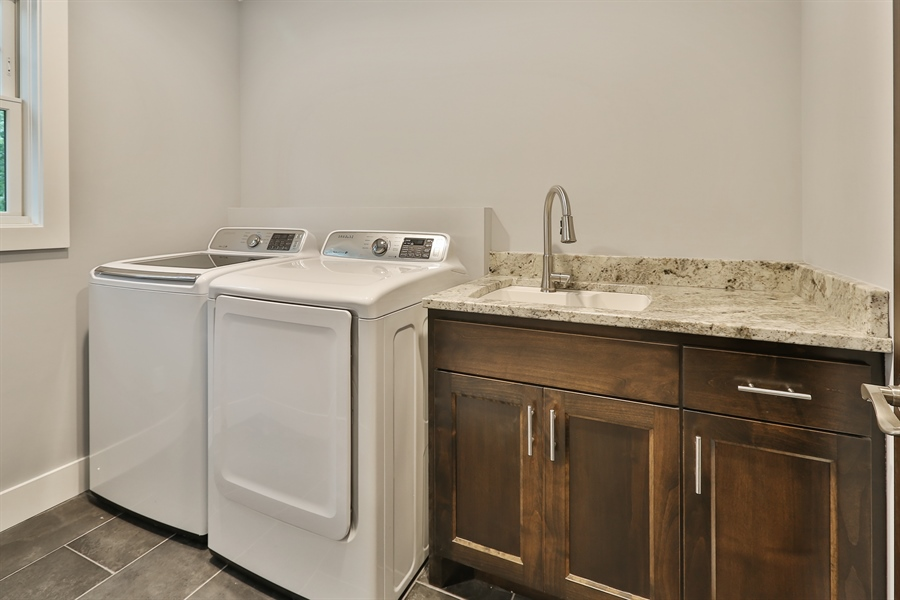 Real Estate Photography - 4513 Parkside Ln, Edina, MN, 55436 - Laundry Room