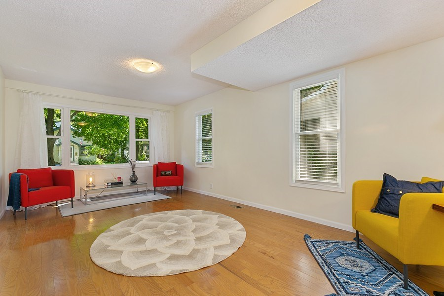 Real Estate Photography - 2844 S 38th Ave, Minneapolis, MN, 55406 - Living Room