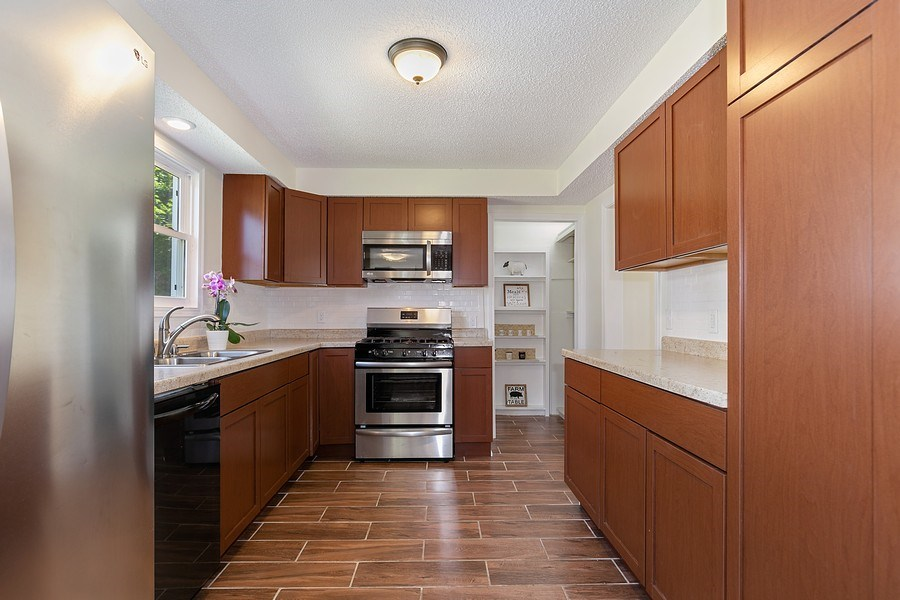Real Estate Photography - 2844 S 38th Ave, Minneapolis, MN, 55406 - Kitchen