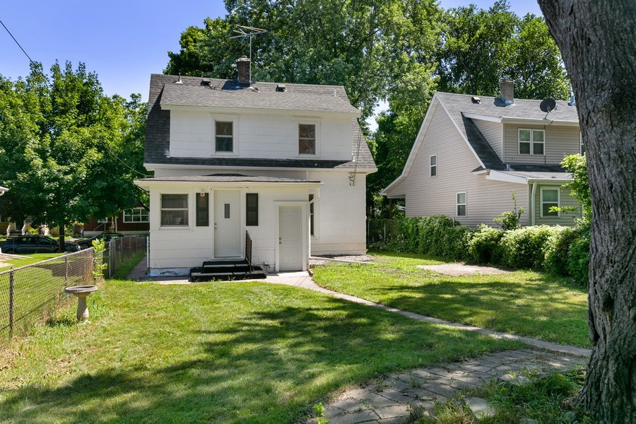 Real Estate Photography - 2844 S 38th Ave, Minneapolis, MN, 55406 - Rear View