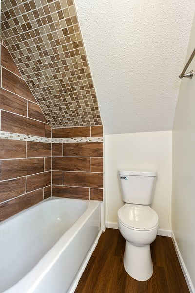Real Estate Photography - 2844 S 38th Ave, Minneapolis, MN, 55406 - 2nd Bathroom