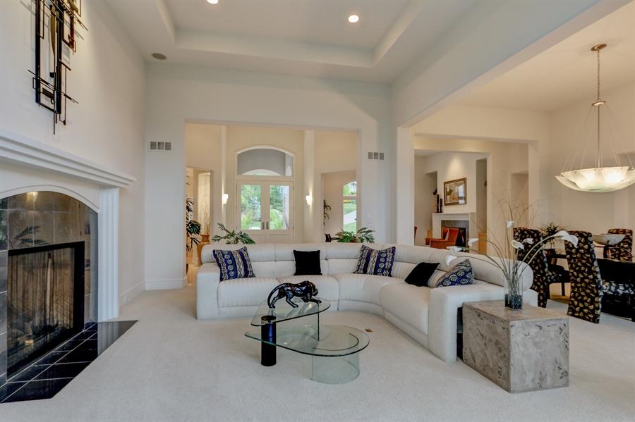 Real Estate Photography - 16510 Eden Bridge, Loch Lloyd, MO, 64012 - Living Room