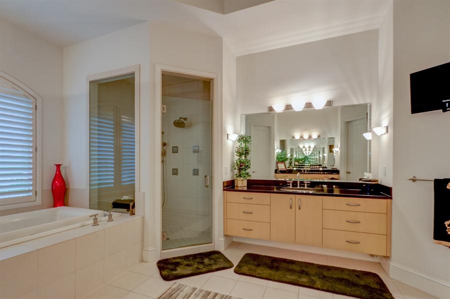 Real Estate Photography - 16510 Eden Bridge, Loch Lloyd, MO, 64012 - Master Bathroom