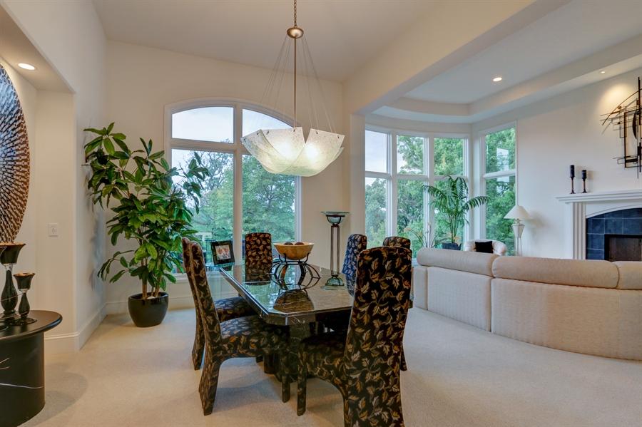 Real Estate Photography - 16510 Eden Bridge, Loch Lloyd, MO, 64012 - Dining Room