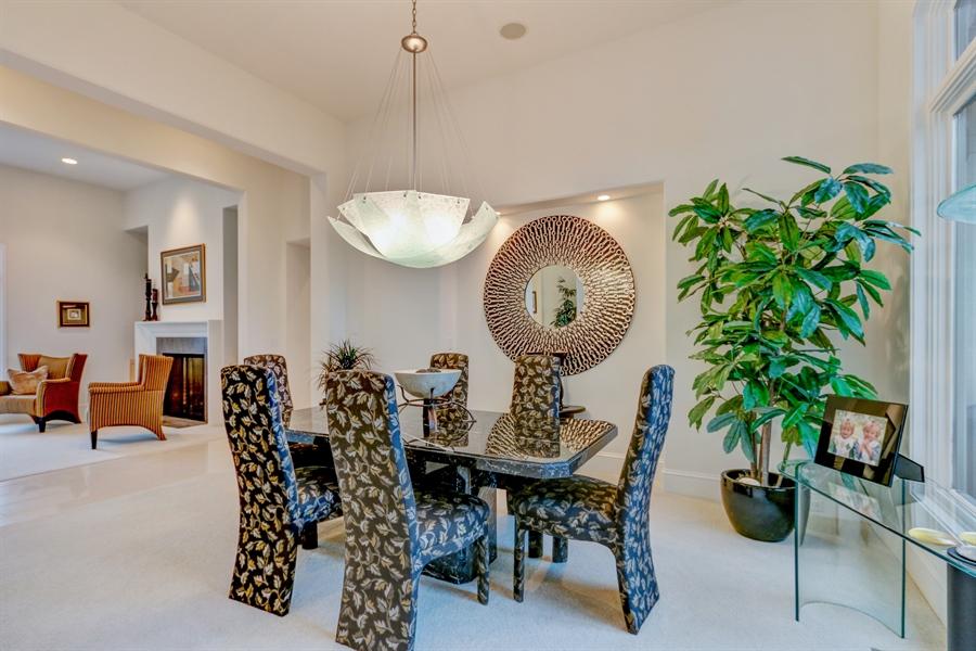 Real Estate Photography - 16510 Eden Bridge, Loch Lloyd, MO, 64012 - Dining Area