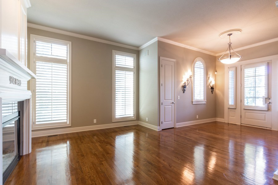 Real Estate Photography - 9116 W. 156th Place, Overland Park, KS, 66221 - Living Room
