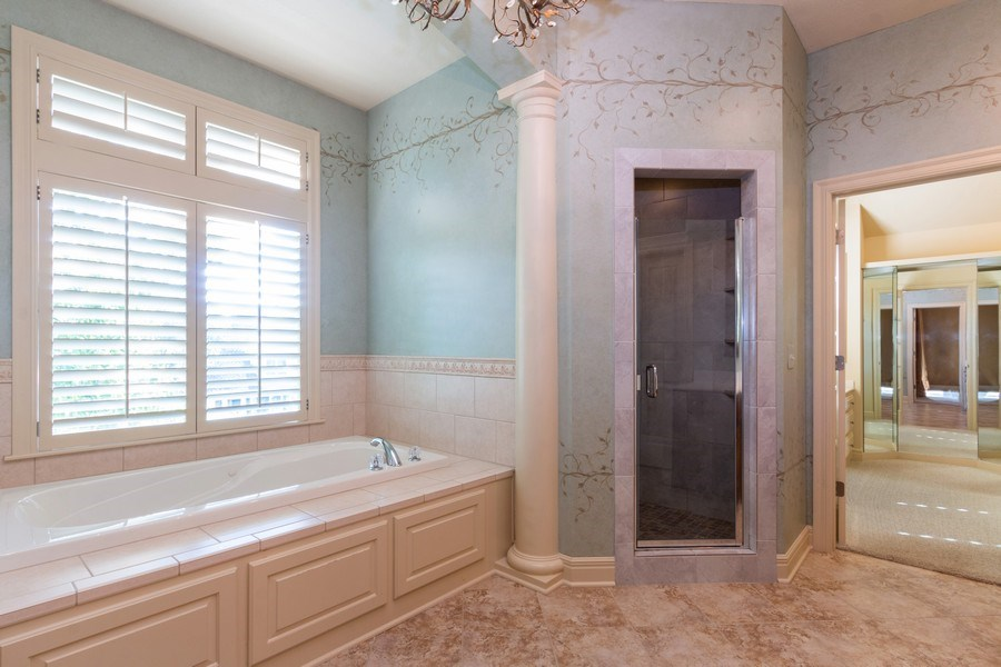 Real Estate Photography - 9116 W. 156th Place, Overland Park, KS, 66221 - Master Bathroom
