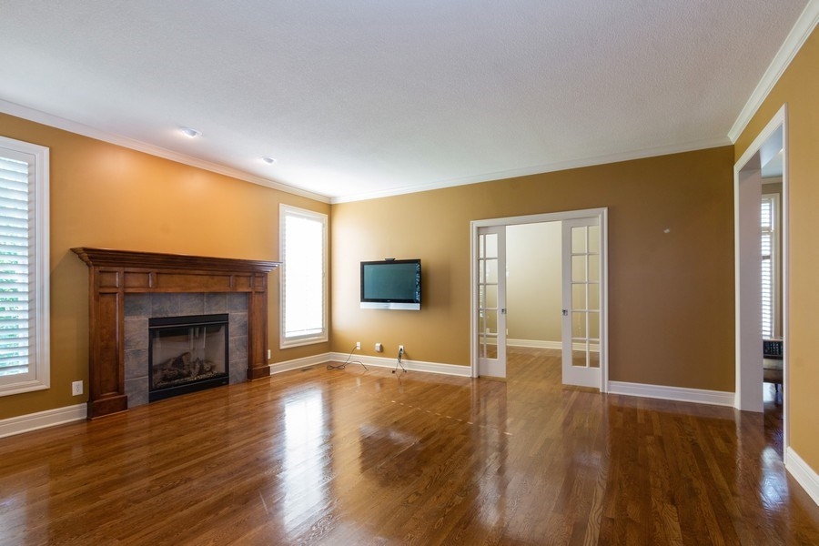 Real Estate Photography - 9116 W. 156th Place, Overland Park, KS, 66221 - Family Room