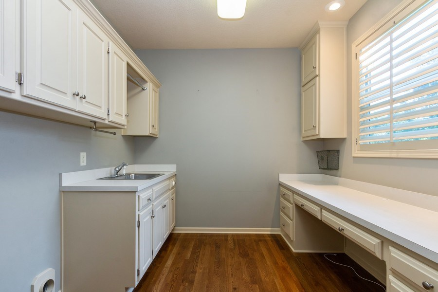 Real Estate Photography - 9116 W. 156th Place, Overland Park, KS, 66221 - Laundry Room
