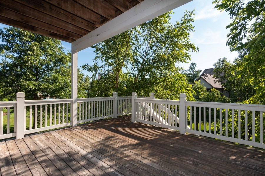 Real Estate Photography - 9116 W. 156th Place, Overland Park, KS, 66221 - Deck