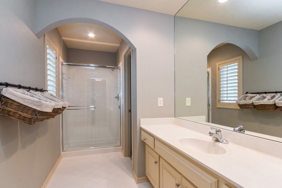 Real Estate Photography - 9116 W. 156th Place, Overland Park, KS, 66221 - Bathroom