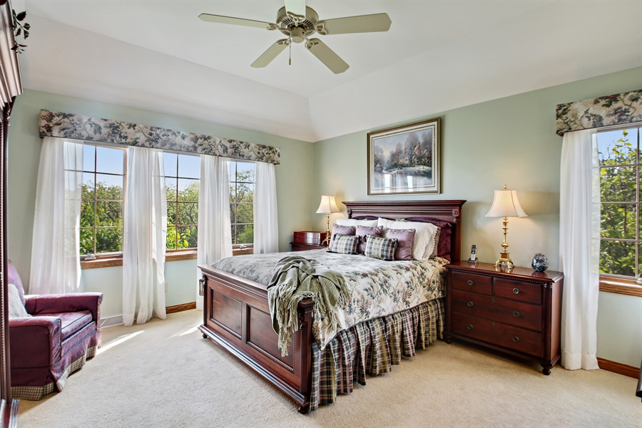 Real Estate Photography - W295 S 5278 Holiday Oak Ct, Genesee Depot, WI, 53127 - Master Bedroom