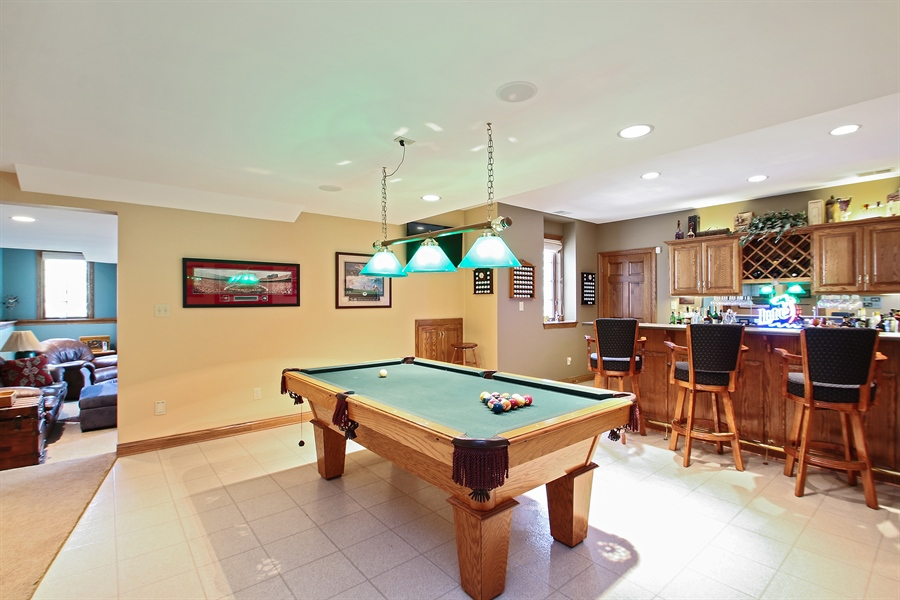 Real Estate Photography - W295 S 5278 Holiday Oak Ct, Genesee Depot, WI, 53127 - Recreational Room