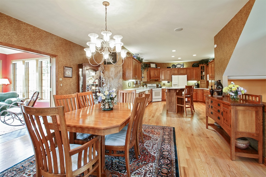 Real Estate Photography - W295 S 5278 Holiday Oak Ct, Genesee Depot, WI, 53127 - Dining Room