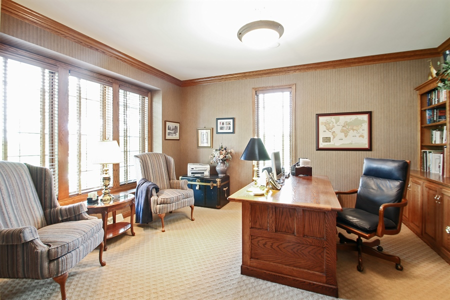 Real Estate Photography - W295 S 5278 Holiday Oak Ct, Genesee Depot, WI, 53127 - Office