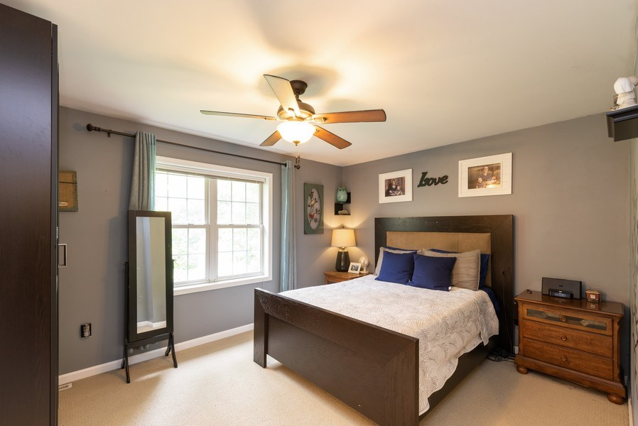 Real Estate Photography - 923 Essex Dr, Chesterton, IN, 46304 - Master Bedroom