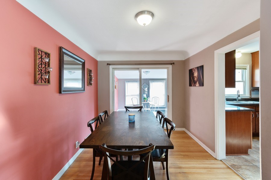 Real Estate Photography - 5532 DuPont Avenue, Brooklyn Center, MN, 55430 - Dining Room