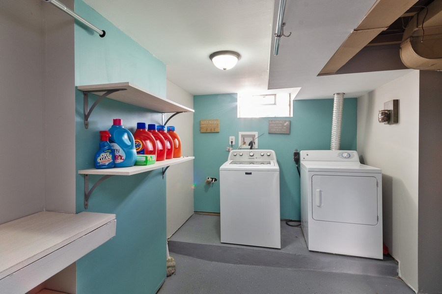 Real Estate Photography - 5532 DuPont Avenue, Brooklyn Center, MN, 55430 - Laundry Room