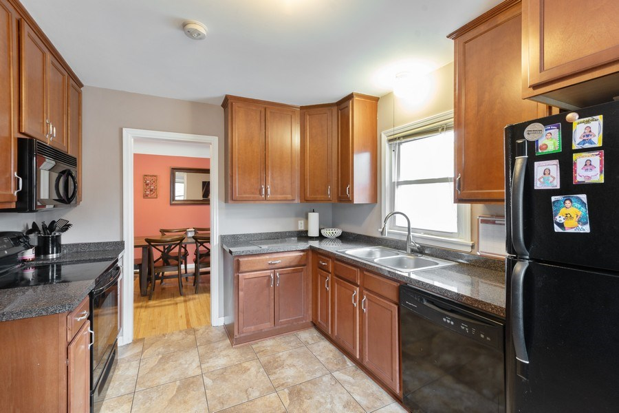 Real Estate Photography - 5532 DuPont Avenue, Brooklyn Center, MN, 55430 - Kitchen