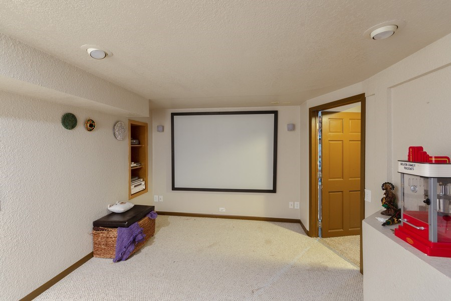Real Estate Photography - 5532 DuPont Avenue, Brooklyn Center, MN, 55430 - Theater