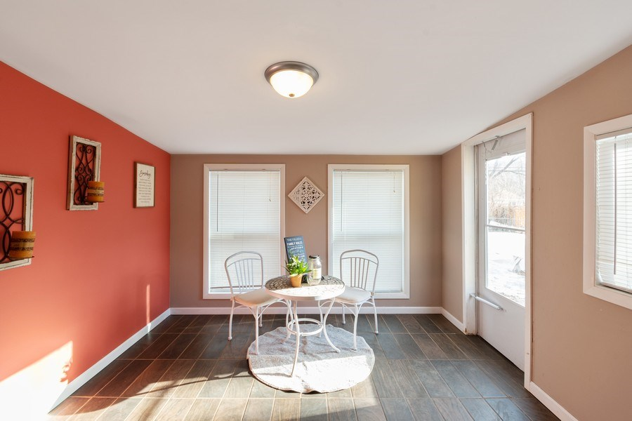 Real Estate Photography - 5532 DuPont Avenue, Brooklyn Center, MN, 55430 - Sun Room