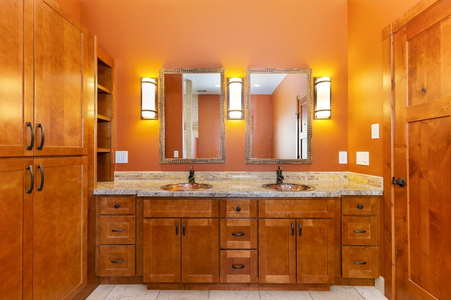 Real Estate Photography - 3472 W 450th Ave, Maiden Rock, WI, 54750 - Master Bathroom